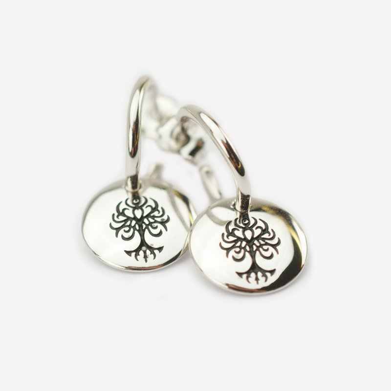 earrings in silver 925